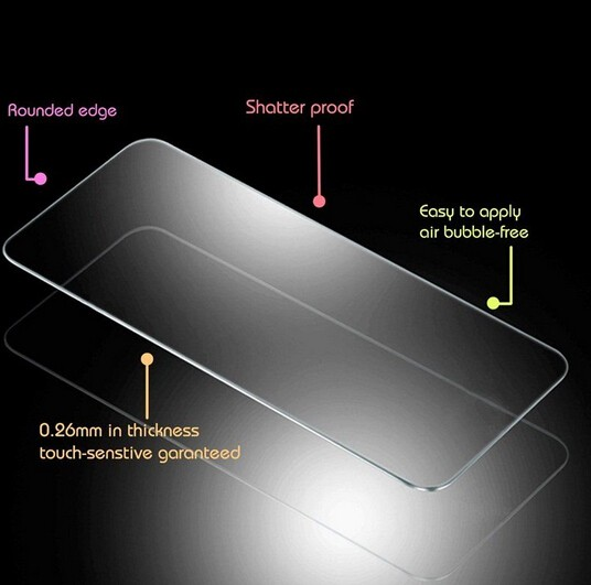 For Lenovo K5 0.2mm 9H Explosion-proof HD Tempered Glass For Lenovo K5 K5+ A6020 5.0Inch Case Screen Protector Protective Film