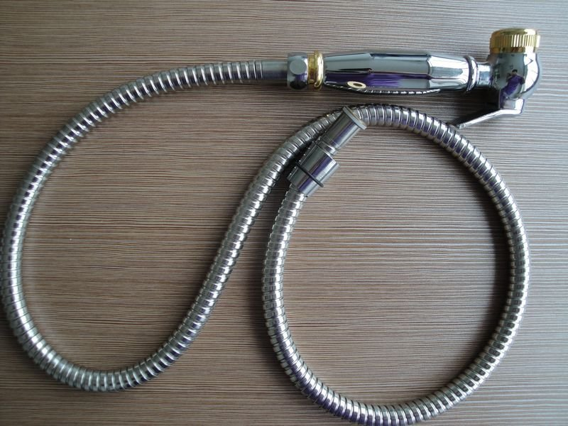 how to clean shower hose