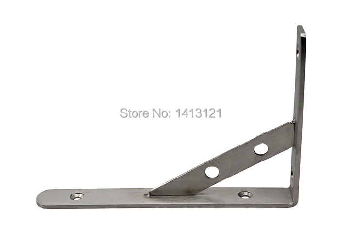 free shipping 12 inch stainless steel bracket household hardware wall bracket shelf support bracket Home improvement item supply<br><br>Aliexpress