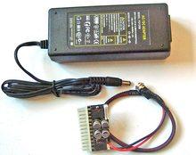96W AC/DC 12V 8A Power supply Adapter + DC ATX Picopsu Power Supplies   ATOM HTPC ITX PC mini mico ATX Power supply(China (Mainland))