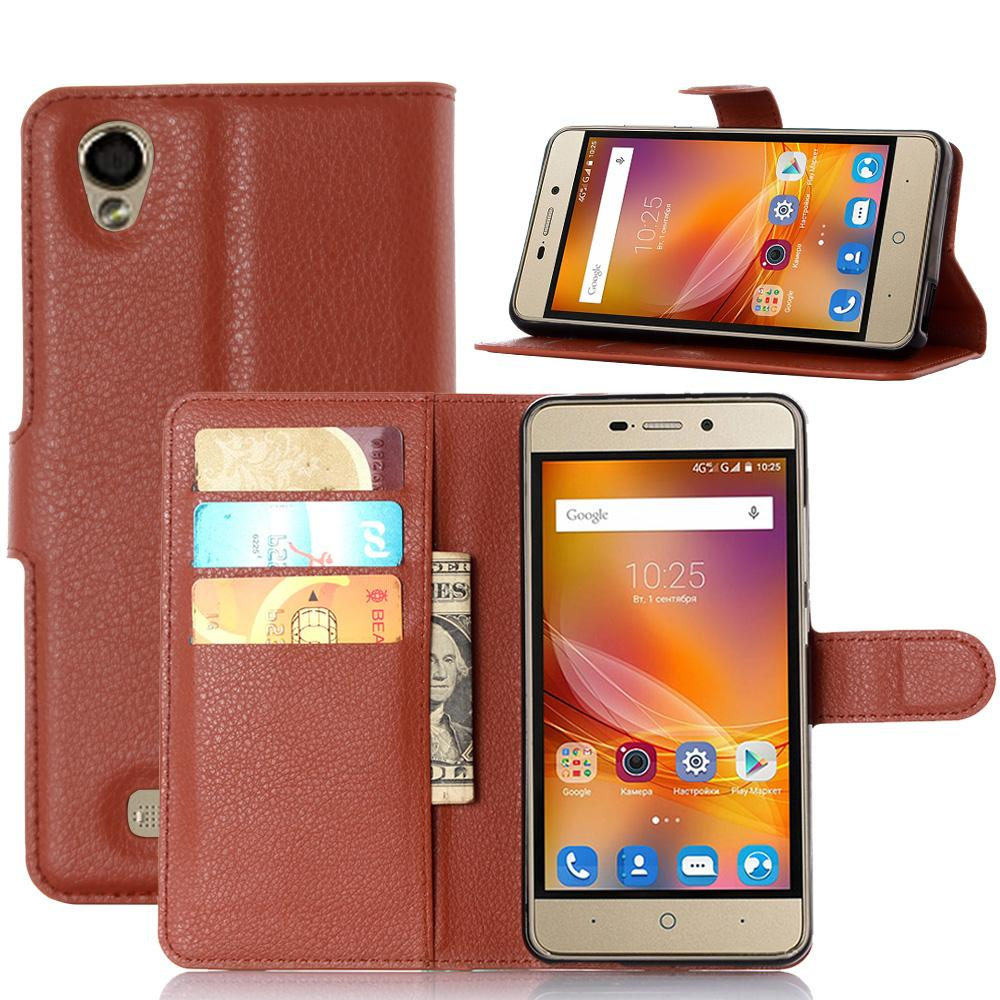 For ZTE Blade X3 Luxury Wallet PU Leather Case For ZTE Blade X3 D2 Phone Bag Flip Cover With Stand And Card Holder 10pcs/lot