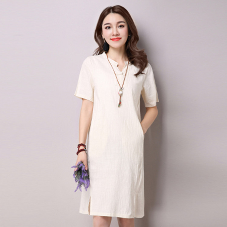 Женские льняные платья со скидкой