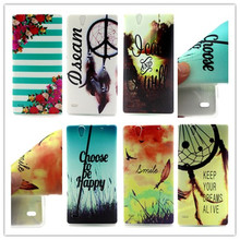 shelves fashion Sony C4 Case Ultra Thin Clear color Soft Gel TPU Phone Cases Cover Xperia Capa phone bags - Myforever27 Caveolae store