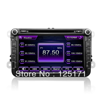 8 inch 2 din,VW Golf 5 Car DVD player,build in GPS,Bluetooth,Radio,Aux in,RDS,ipod music play,USB,etc.Free shipping