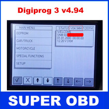 Digiprog III Digiprog 3  V4.94 Odometer Programmer digiprog3 full set  all cables multi language 2015 Newest hot sale(China (Mainland))
