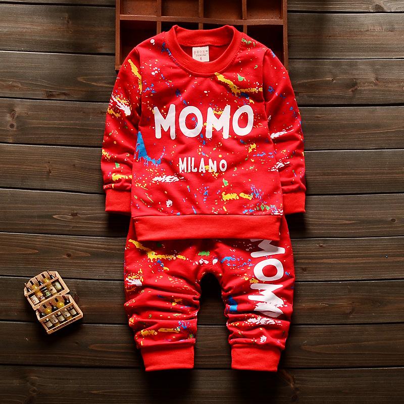 Fahsion Baby Boys Girls Suit Sets Baby Jogging Suits Children's Sports Suits Kids Tracksuits 3Colors disfraz infantil P58(China (Mainland))