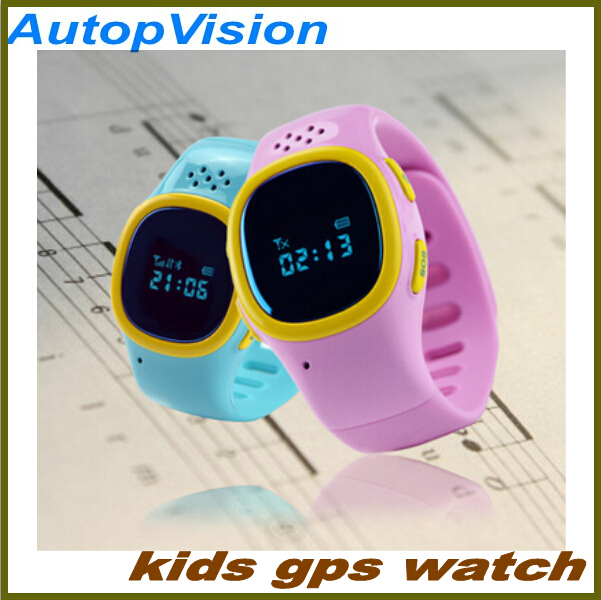Wrist Watch City Walk 520 GPS Tracking Device for kids Via GPRS GSM Track Persons Child Kids with SOS Button(China (Mainland))