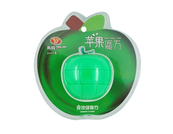 2010 Newest Style Fashion Apple Shaped Magic Cube Puzzle Toy(China (Mainland))