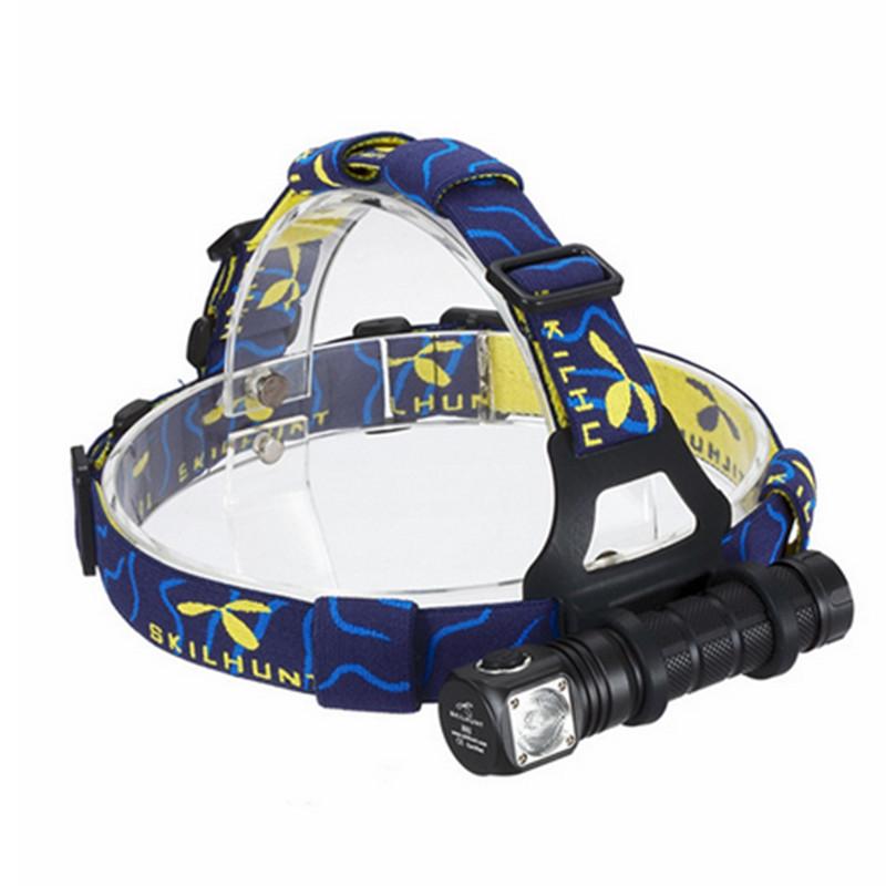 New H02 Cree XM-L2 5-Mode 820 lumens Waterproof Headlamp LED Flashlight Headlight Head Torch<br><br>Aliexpress