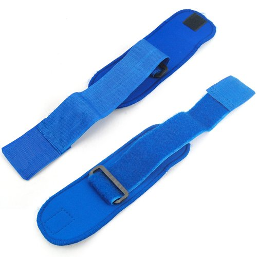 Wholesale 5X New Blue Neoprene Wrist Palm Thumb Support Adjustable Strap Brace Sport(China (Mainland))