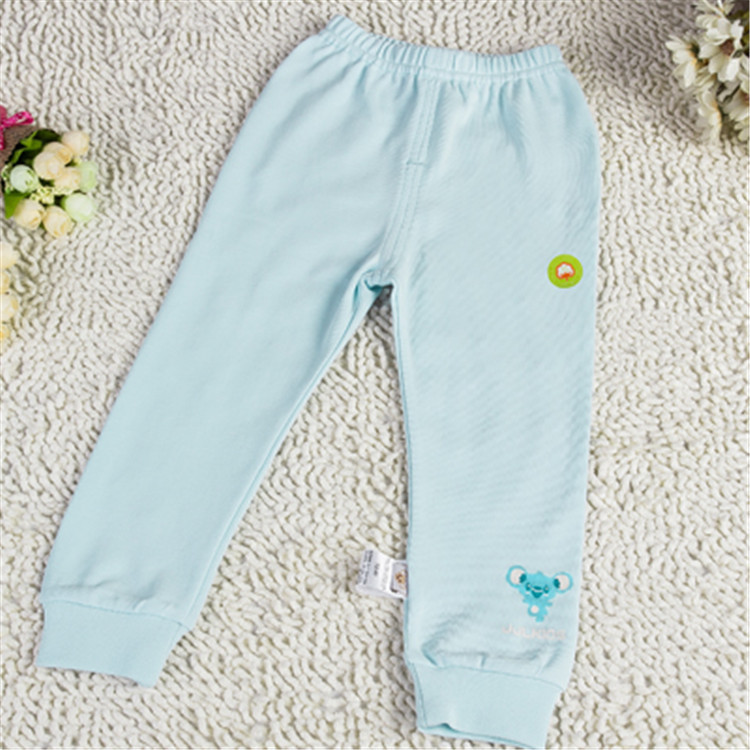 2015 spring and autumn new style kids clothes baby kids fashion long pants casual solid color cotton pants  DPP3509(China (Mainland))