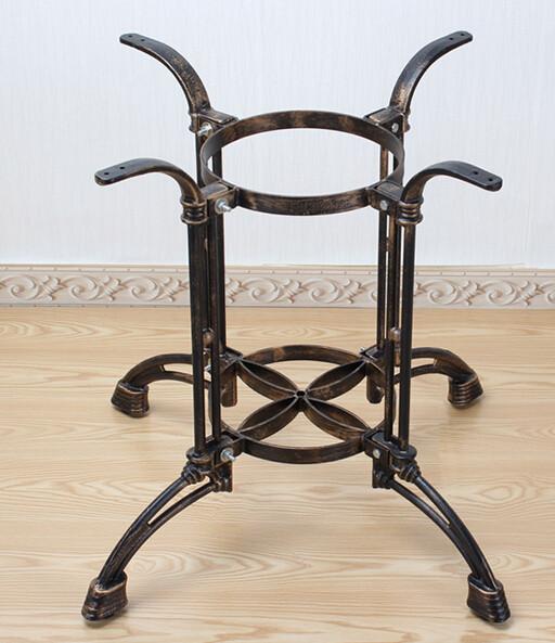 Cast iron table legs.. Hot pot table. The table leg bracket