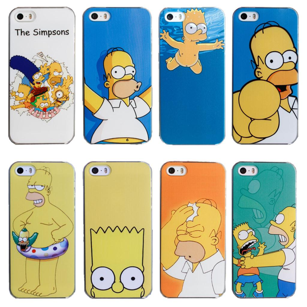 2015 Magic Design Cover For Apple iPhone 5C iPhone5c Case Simpson Homer Simpsons Phone Cases Covers Shell(China (Mainland))