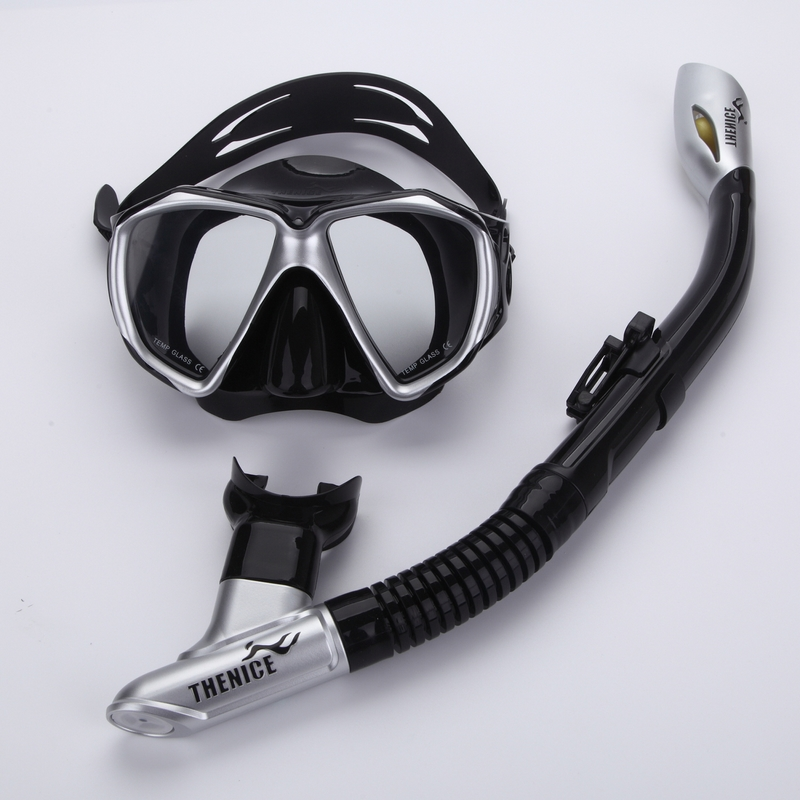 Professional Diving Snorkel Summer Scuba Diving Mask Snorkeling Glasses Set Silicone Swimming Schnorchel Pool Equipment(China (Mainland))