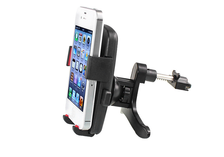 Newest Car Air Outlet of vehicle Mobile Phone Mount Support Universal Phone Holder for iPhone Car GPS Navigator holder(China (Mainland))