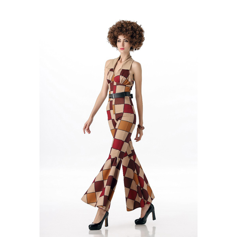 Adult Purple Disco Ruffle Shirt 70s 80s Boogie Retro Fancy Dress Costume