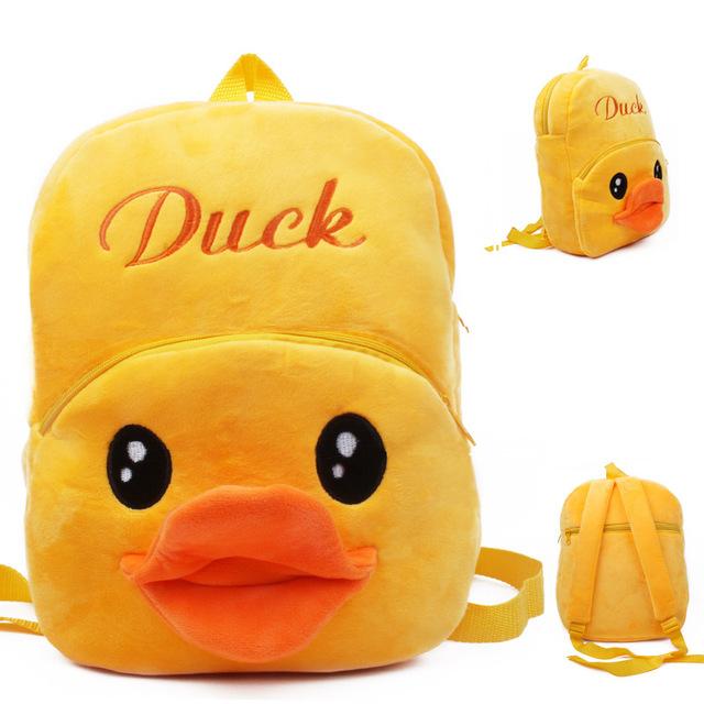 Высокое качество желтый плюш мультфильм игрушки рюкзак детей характер мешок подарок для детей в возрасте 3 - 5 Mochila Infantil горячая распродажа