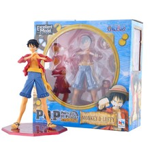 Megahouse POP Excellent Model Japan Anime One Piece 2 Years Later Monkey D Luffy P.O.P Action Figure Onepiece PVC Figures