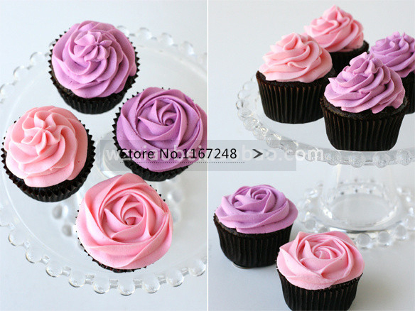2D 852 Large Size Cupcake Nozzle Decorating Tip Icing Nozzle Cake Cupcake Decorating Tools Decorating