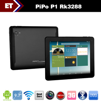 Original 9.7 Inch PiPO P1 IPS 10 Touch Screen RK3288 Quad Core Tablet PC Android 4.4.2 Dual Cameras 2GB Ram Bluetooth GPS