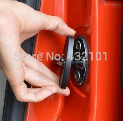 Car door lock protection cover fit for Nissan x-trail qashqai SUNNY TIIDA LIVINA TEANA Koleos 4pcs/set<br><br>Aliexpress