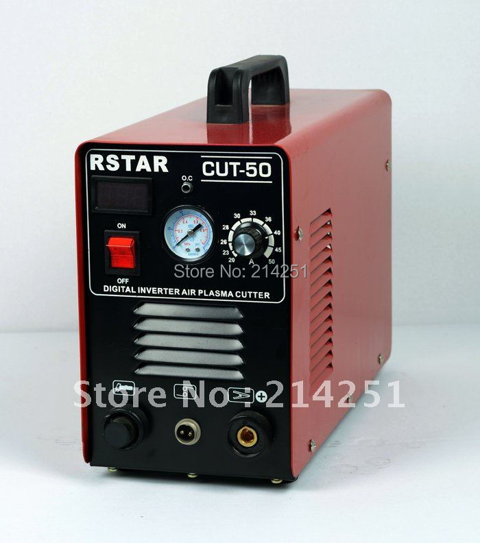 2014 Special Offer Sale Freeshipping Solda Plasma Cutting Torch 110v/220v Digital Display Type 50a Machine - WELDING STAR store