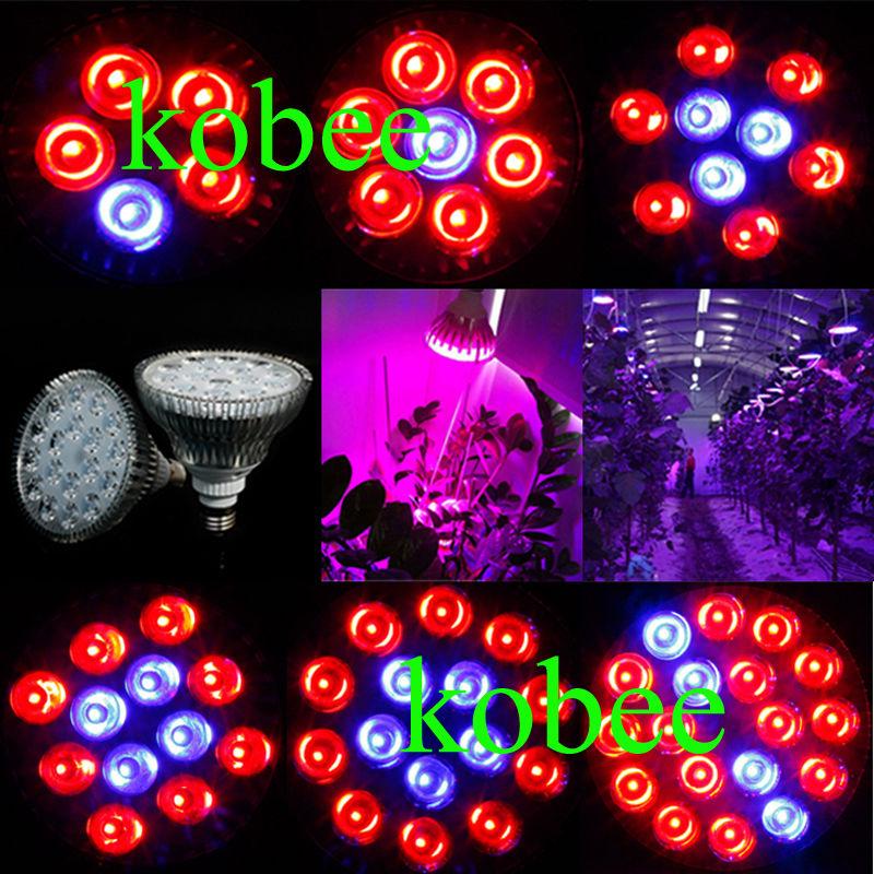 E27 15W 21W 27W36W 45W 54W Par38 LED planting spotlight plant Grow light Hydroponic bulb LED flowering and fruiting lamp(China (Mainland))