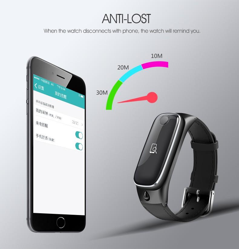 ถูก 2016 ttlife m6 smart watchกีฬาสร้อยข้อมือสมาร์ทวงบลูทูธ4.0หูฟังนอนการตรวจสอบติดตามการออกกำลังกายสำหรับios a ndroid p hone