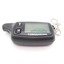 Russia version TW9010 lcd remote for Tomahawk TW9010 car remote two way car alarm system free shipping(China (Mainland))
