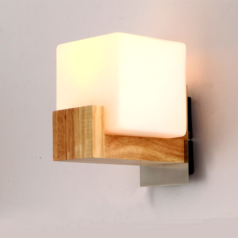 Wall Lamps Wooden : Free-Shipping-x-Modern-Brief-Bedroom-Bedside-Lamp-Wall-Lamp-Balcony-Rustic-Solid-Wood-Wall-Lamp.jpg