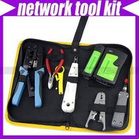 RJ45 RJ11 CAT5 7 IN 1 NETWORK TOOL KIT CABLE TESTER CRIMP LAN #3073