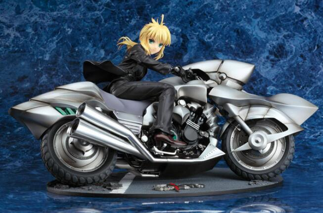 No toys, No childhood. MR WANG high quality Anime toys wholesale Fate/zero Saber black suit Seba + motorcycle in original Box<br><br>Aliexpress