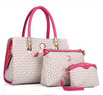 2015 Multi-purpose Women's Handbags Fashion Brand Composite Bag Elegant PVC Bags Female Casual Patchwork Shoulder Bag(China (Mainland))