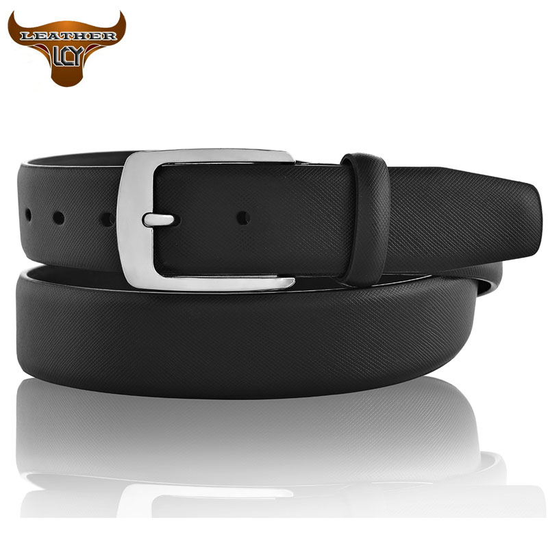 [LCY] New Designer Belts Men High Quality 100% Real Leather Belts for Men cinturones hombre Luxury Metal Pin Buckle 350207(China (Mainland))