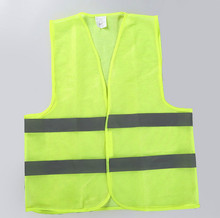Car Motorcycle Reflective Safety Clothing High Visibility Safety Reflective Vest Warning Coat Reflect Stripes Tops(China (Mainland))