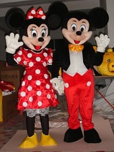 Hot sale 2015 Cartoon Character Adult cute mouse Mascot Costume Fancy Dress Halloween party costume
