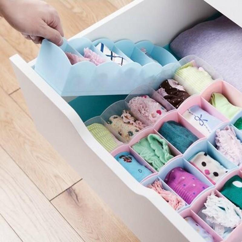 Multifunctional Fashion Underwear Storage Cabinets Organize Jewelry Storage Household Debris Finishing Classification Organizer(China (Mainland))