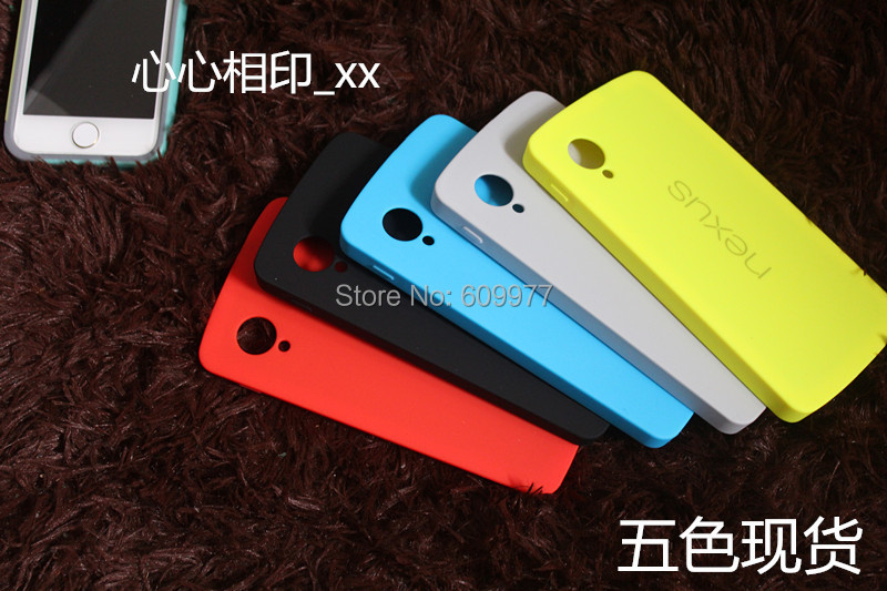 Same As Original Official Bumper Cover For LG Google Nexus 5 E980 D820 Hybrid Brand Logo Phone Bag Case(China (Mainland))