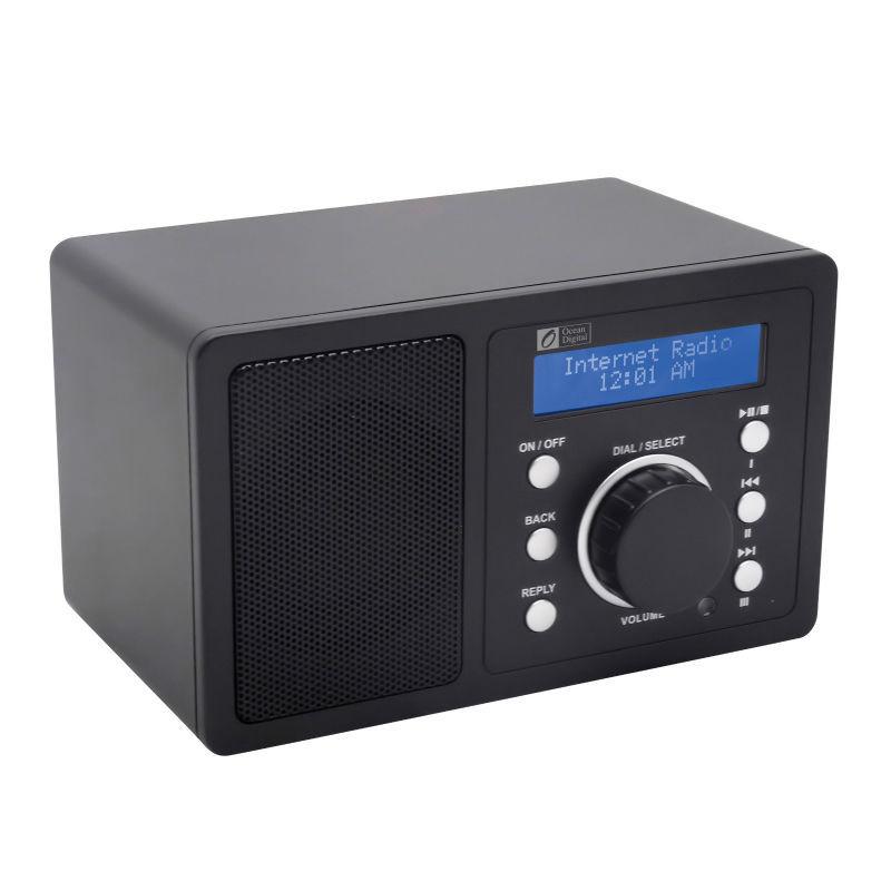 Ocean Digital Brand New Portable Desktop Music Media Player Wireless WLAN WiFi Internet Radio Receiver Tuner(China (Mainland))