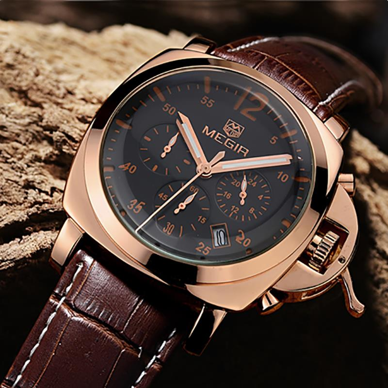 aliexpress buy megir top brand luxury mens watches