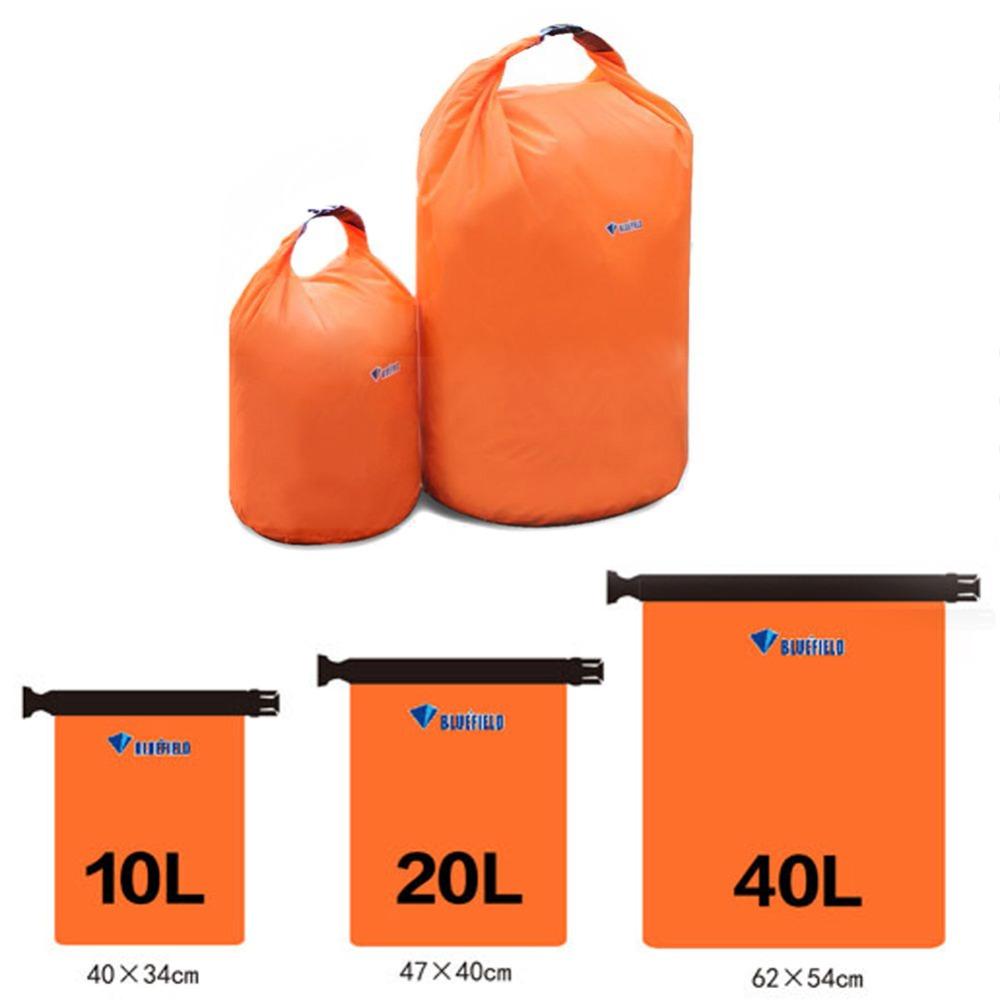 Portable 10L 20L 40L Waterproof Dry Bag Outdoor Camping Foldable Canoe Kayak Rafting Sport Storage Travel Kit Equipment(China (Mainland))