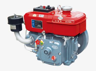 R165 water cooled diesel engine