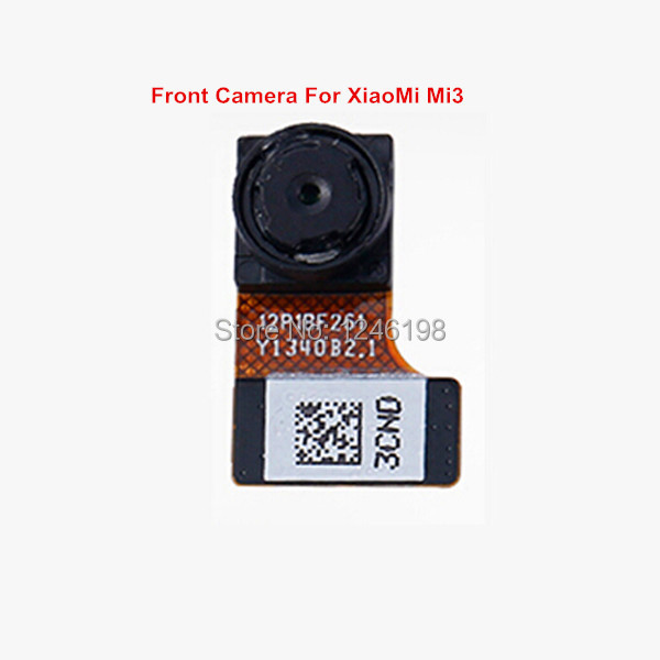 ToP Quality 2.0MP Front Camera Flex Cable Module For Xiaomi 3 M3 Mi3 Repair Replacement Parts Free shipping