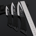 3 piece Lot straight knife outdoor survival knife diving knives free shipping