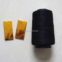 1 stück salon haar gewebefaden/hochfestem polyestergarn für haarspinnen Näh-und 2 stück 90mm c typ nadeln/gebogenen nadel(China (Mainland))