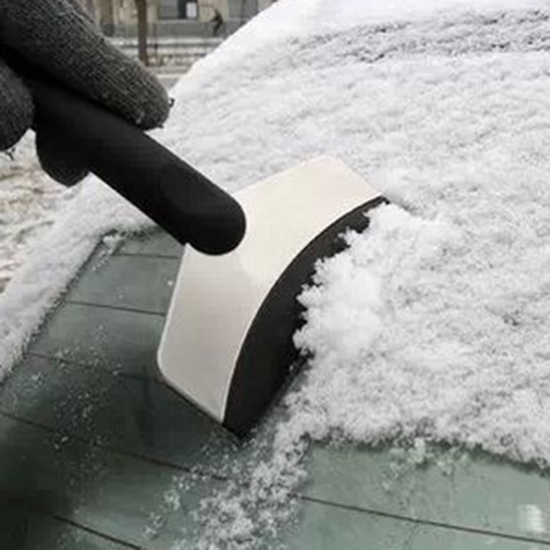 Auto Car Vehicles Ice Scraper Snow Shovel Window Ice Removal Cleaning Tool Stainless Steel + Anti-freezing Rubber(China (Mainland))