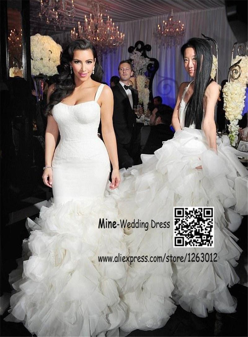 Khloe Kardashian robe de mariée