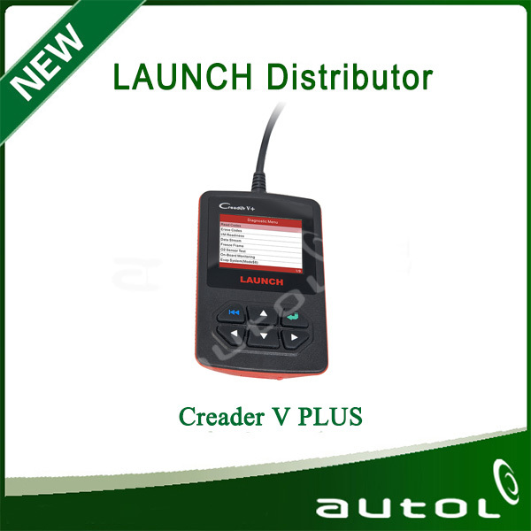 Launch DIY Creader V+ OBD2 EOBD Code Reader Fault Scanner Auto Diagnostic Tool(China (Mainland))