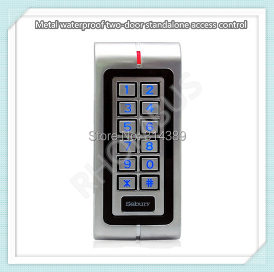 Фотография Metal waterproof two-door standalone access control (W1-A)