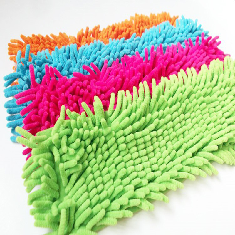 4 pcs New Arrival Best Price Cleaning Pad Dust Mop Household Microfiber Coral Mop Head Replacement Fit For Cleaning(China (Mainland))
